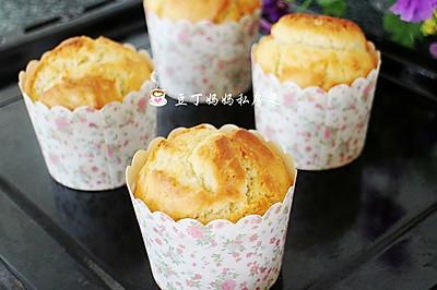 牛奶麦芬——操作简单快捷,很适合当早餐的一款小蛋糕