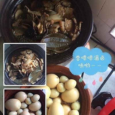 大卤锅(猪心猪腰五花肉鸭蛋鸡蛋做法蛋)的鹌鹑之食谱品美善红烧肉图片