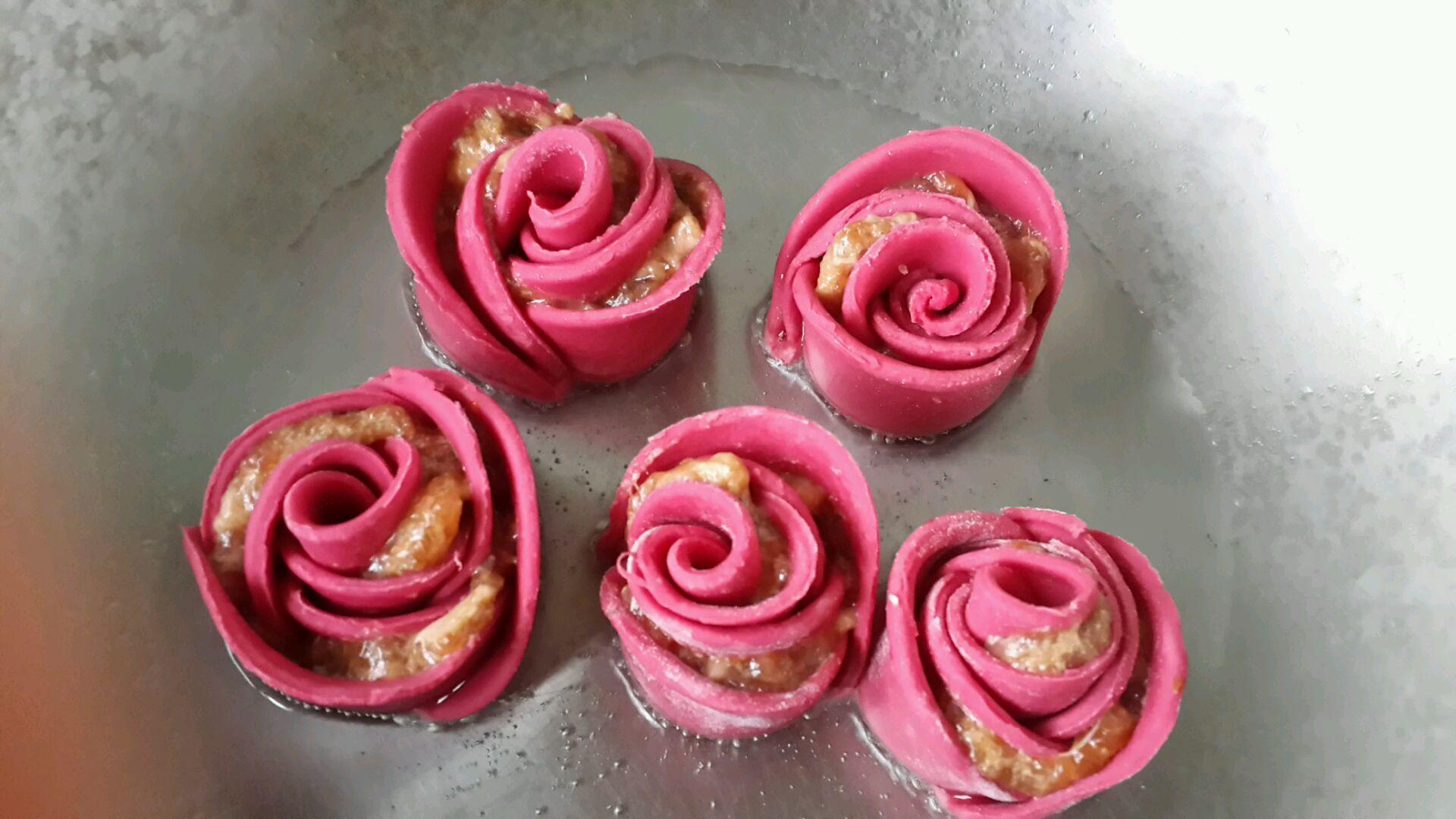 玫瑰花饺子的做法图解11