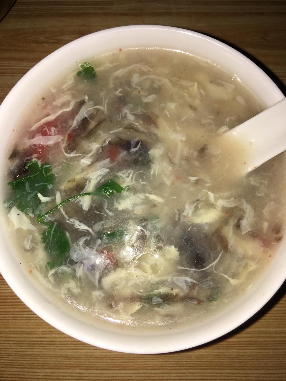 紫菜蛋花汤的做法步骤 1.