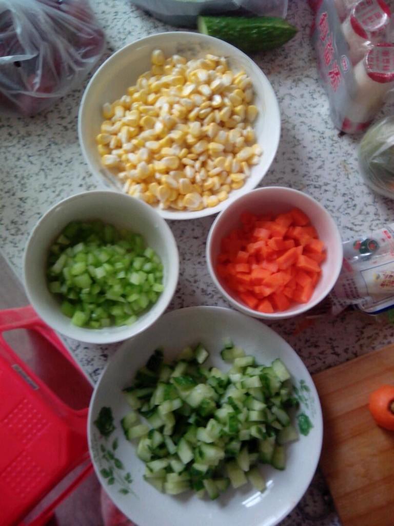 肯德基玉米沙拉的做法步骤