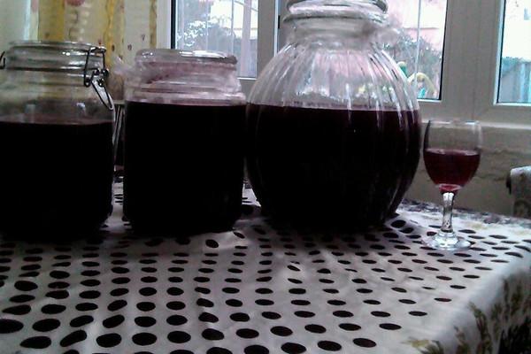 主料 10斤 冰糖4斤 自酿葡萄酒的做法步骤 分类:        本菜谱