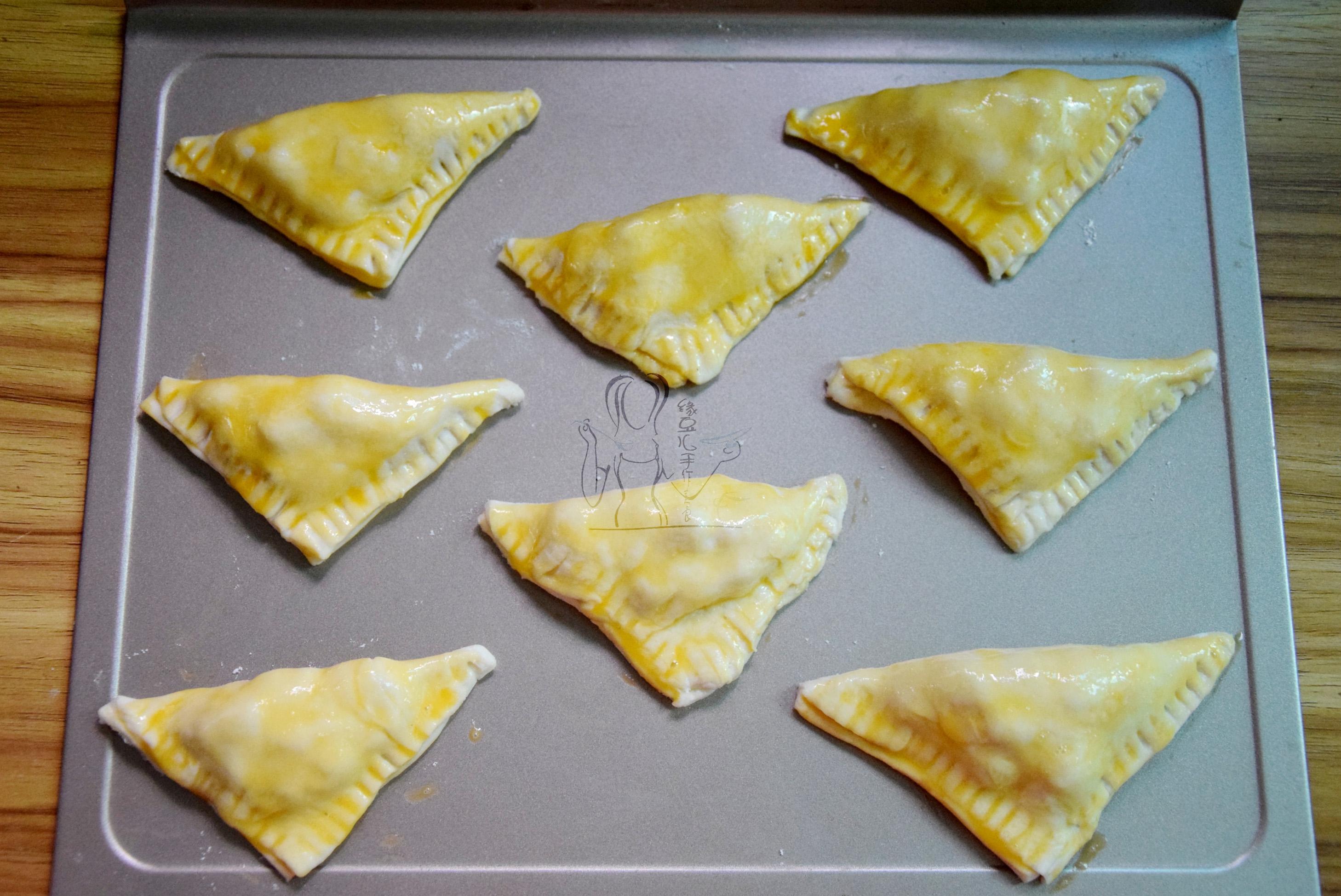 香蕉酥派#蒸派or烤派#的做法图解9
