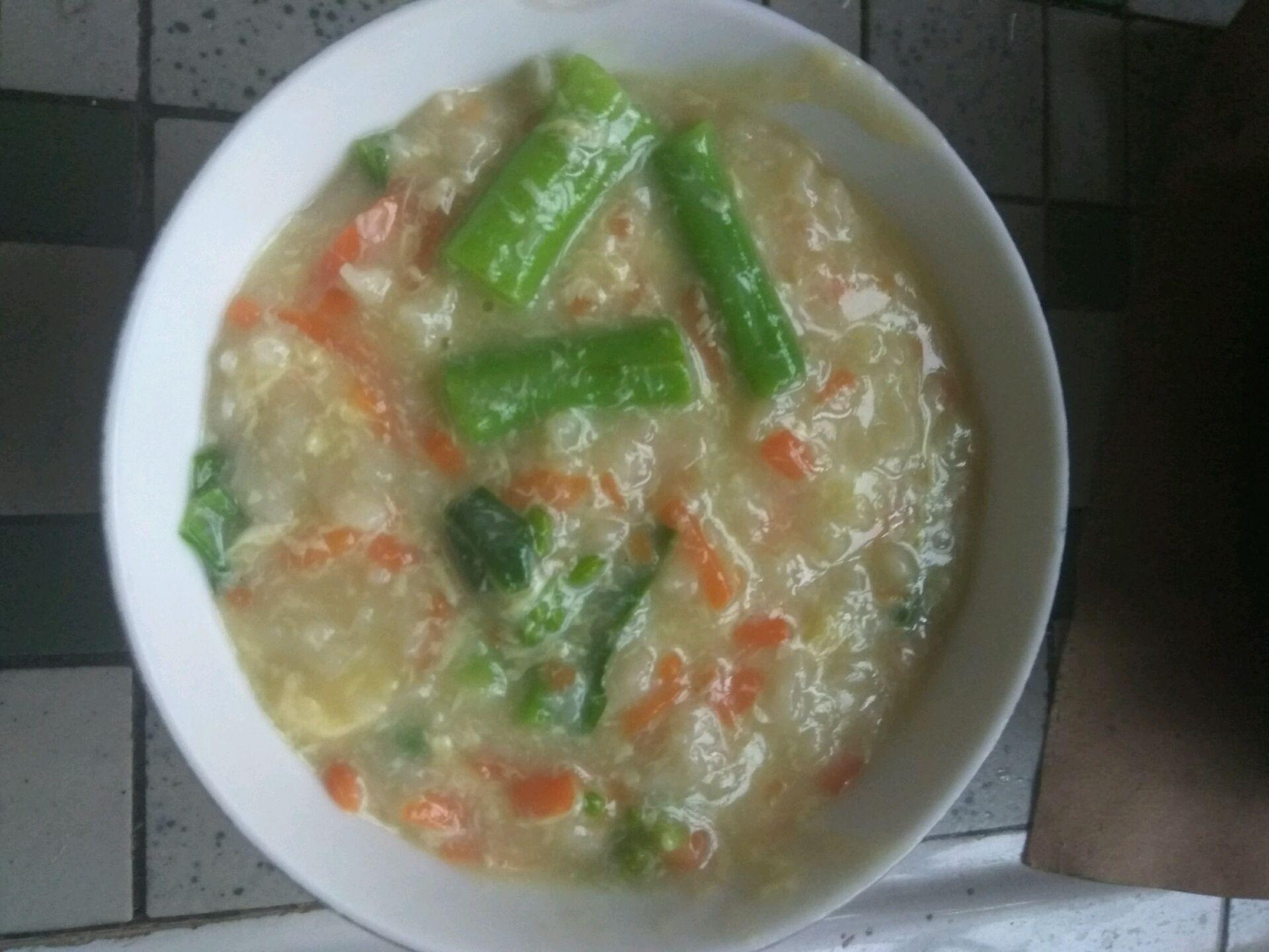 养胃早餐——疙瘩汤的做法图解7