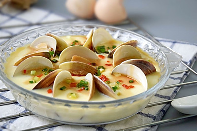 鲜美无比的蛤蜊蒸蛋