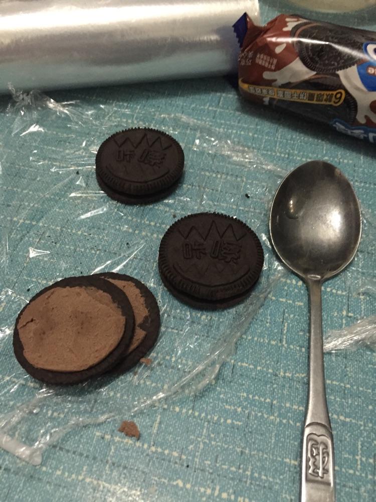 高颜值巧克力水果沙拉的做法图解1
