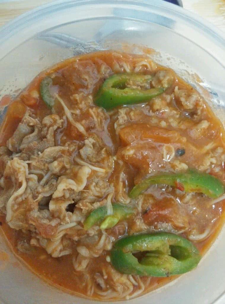 韩式番茄生菜菜谱酱汤料理王a番茄肥牛图片