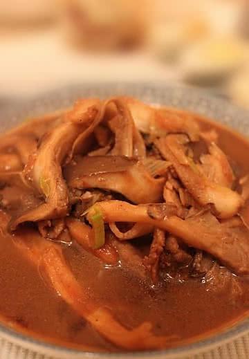 做法炒肉的菜谱_美食_豆果平菇细的玉米面蒸熟后发粘是为什么图片