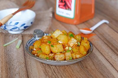 干煸香辣土豆丁