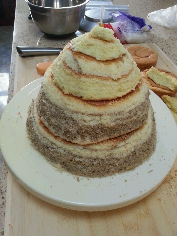 公主蛋糕的做法图解2
