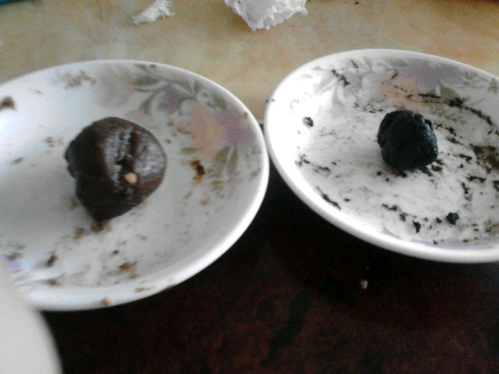 """黑暗料理""""石头""""的做法步骤"""