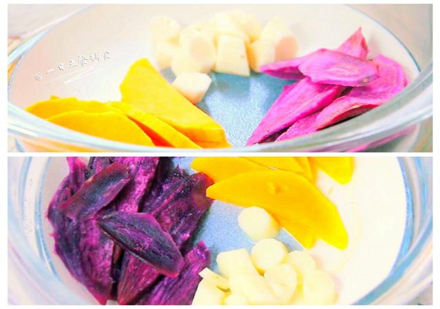 蔬菜豆腐抹酱 3 1种做法的做法步骤 1.
