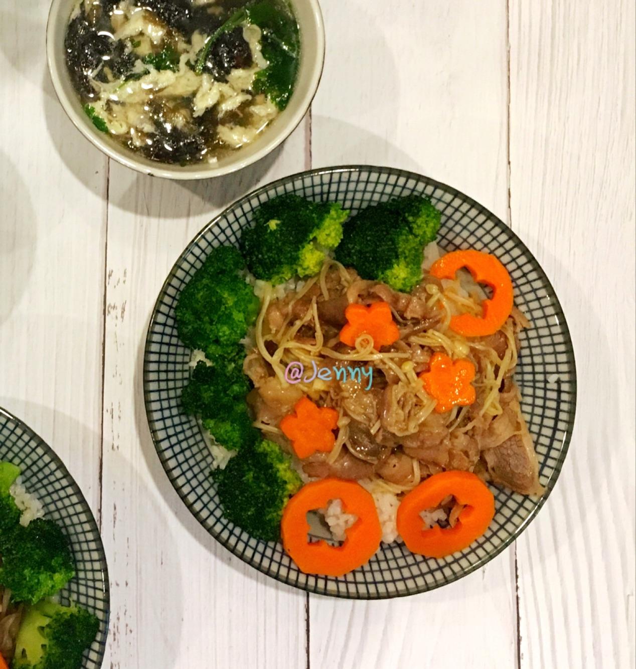 日式金针菇美食饭的菜谱_火锅_豆果肥牛固始县小做法自助肥牛图片