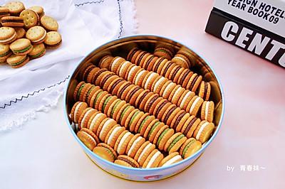 #快手又营养,我家的冬日必备菜品#纽扣牛扎饼干