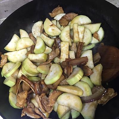 瓠子美食的做法-干菜-豆果烧肉v瓠子版梅菜谱炒五花肉家常菜图片