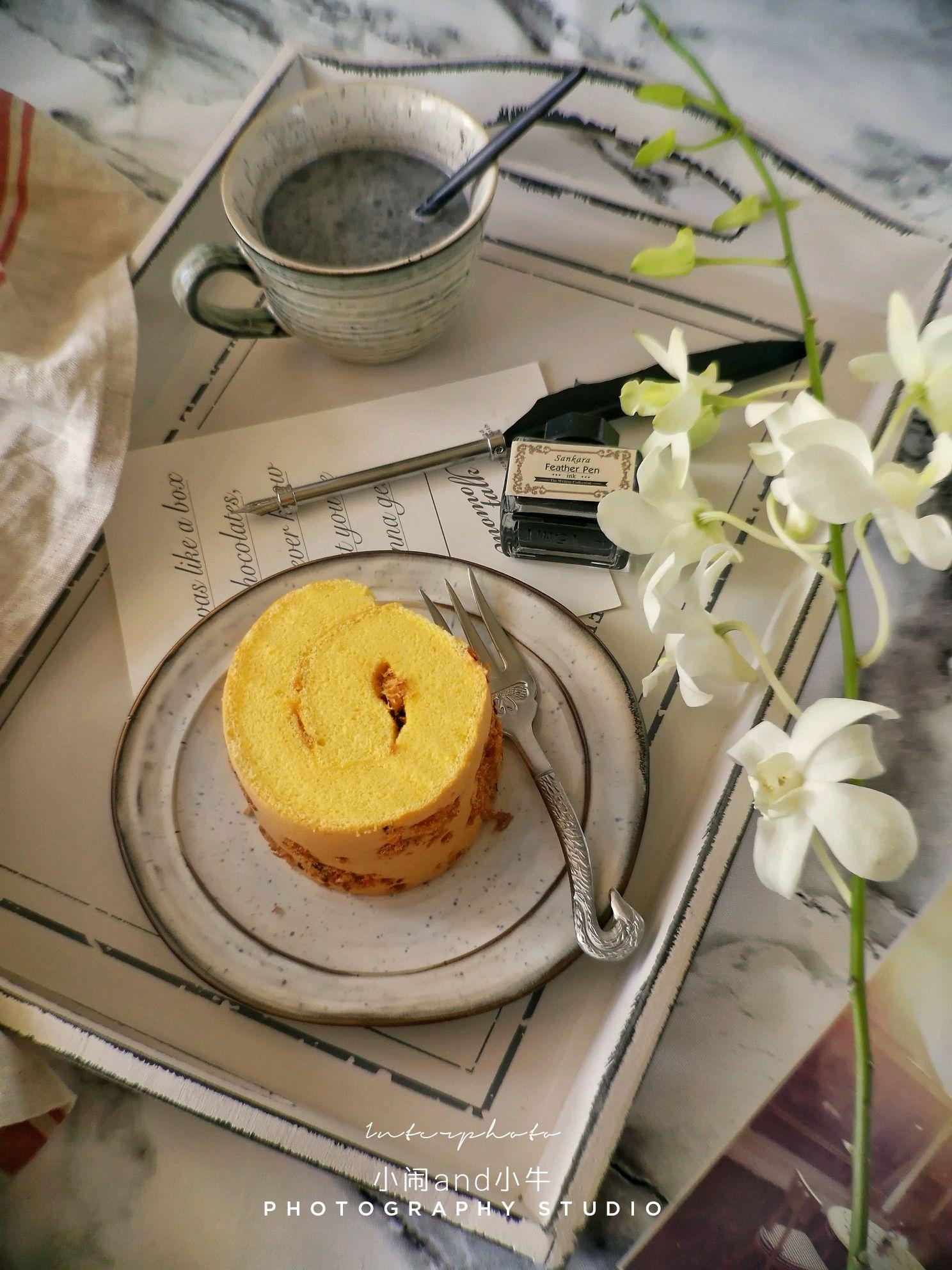 海苔杯子蛋糕卷350毫升的肉松冲燕麦片够大吗图片