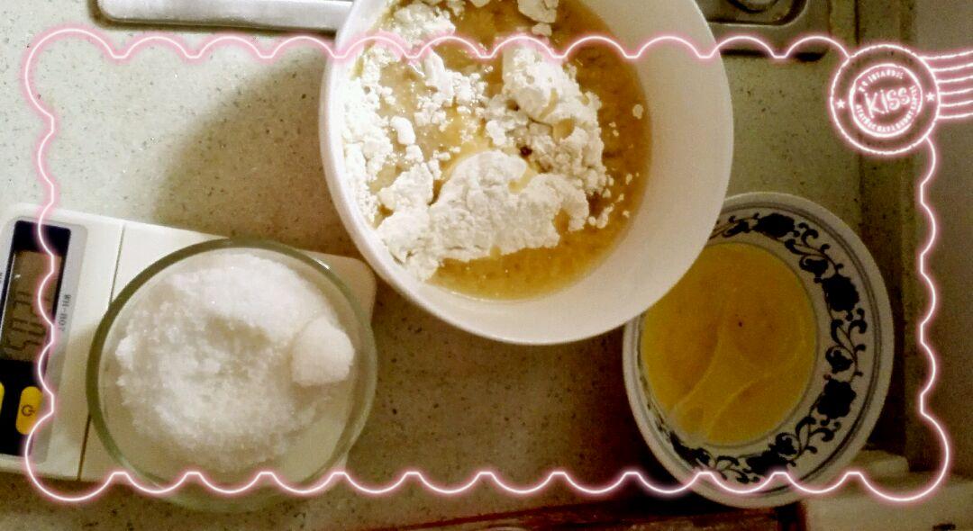 手揉面牛奶葡萄卷的做法步骤