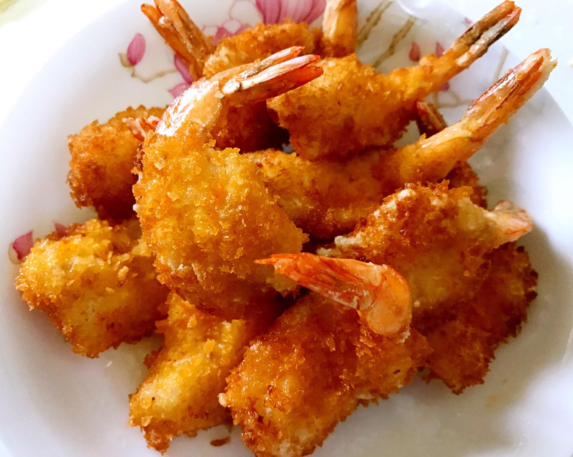 美味凤尾虾的做法图解7