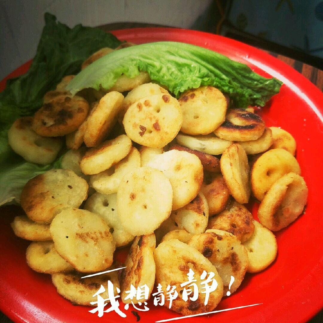 黄金土豆小饼的做法图解8