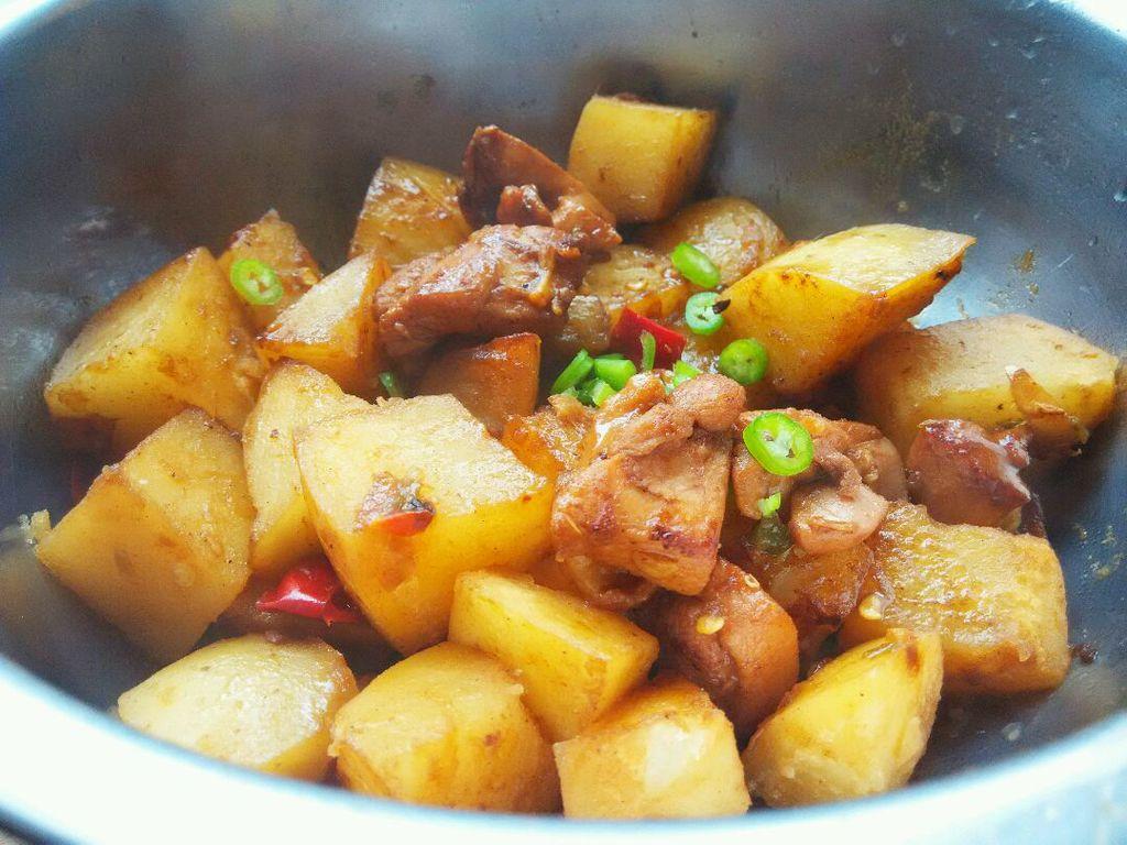 看豆果学做菜之红烧鸡块图片