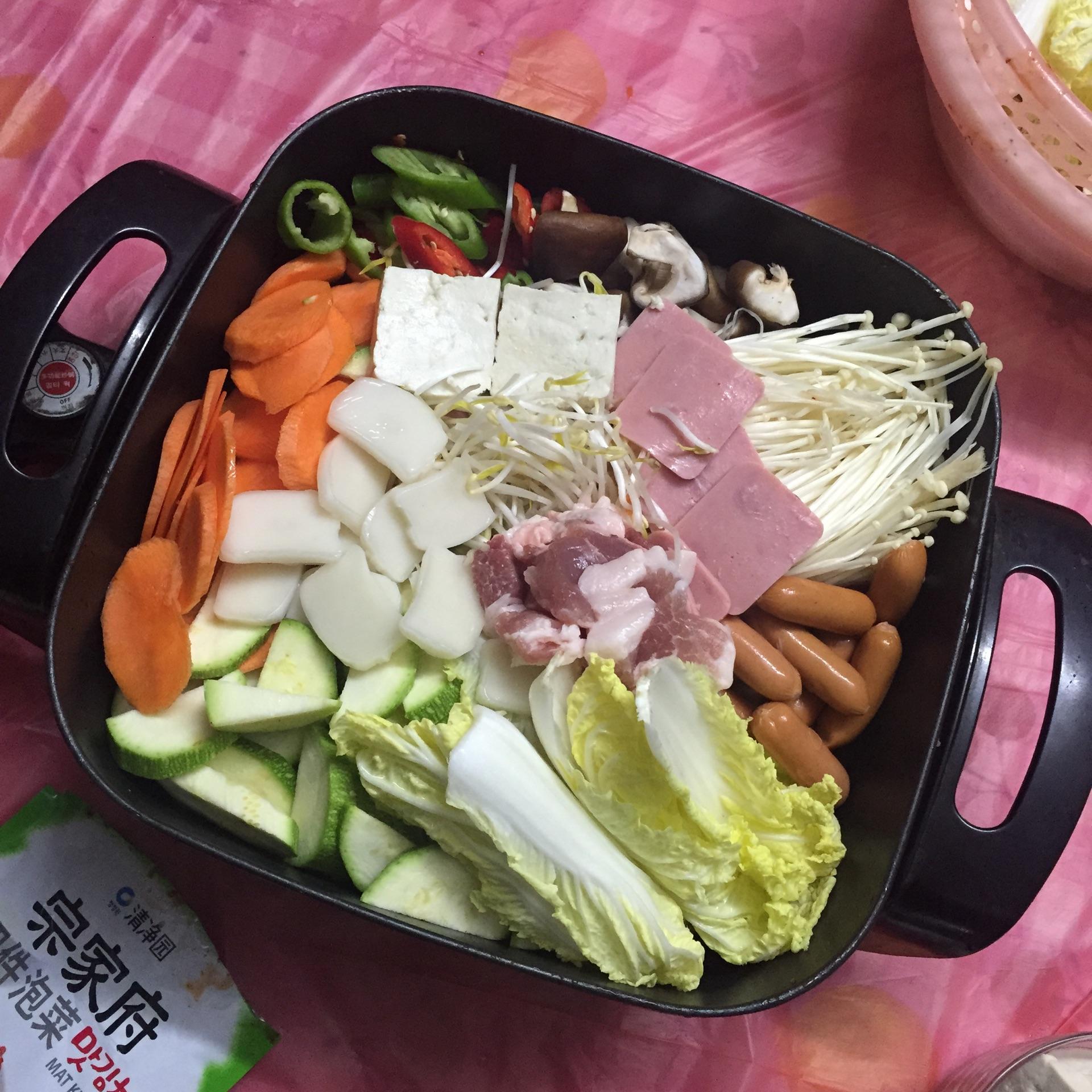 韩式火锅的做法步骤