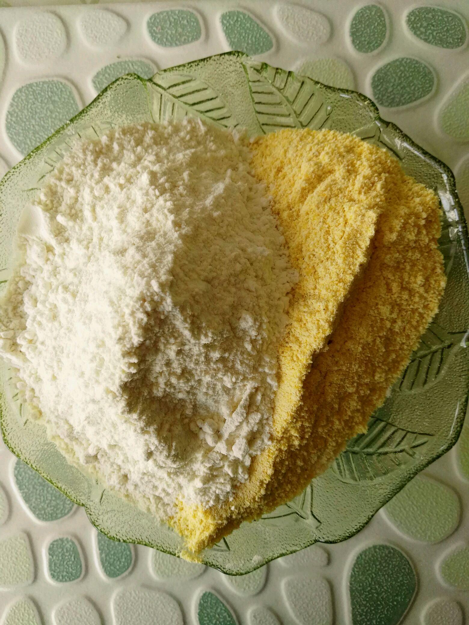 苞米面发糕的做法步骤