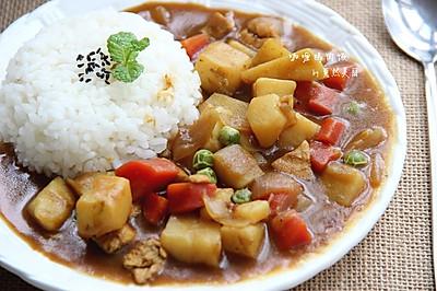 咖喱鸡肉饭——利仁电火锅试用菜谱
