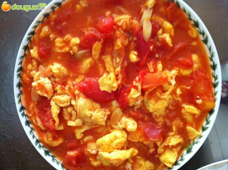 主料 辅料   白糖 西红柿炒蛋的做法步骤 1.