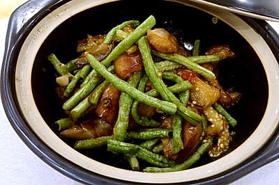 米饭杀手之茄子烧豆角