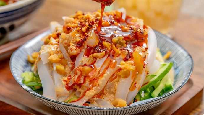 硬核家常菜#凉粉三吃|开胃解馋20瘦身一吃周苹果图片