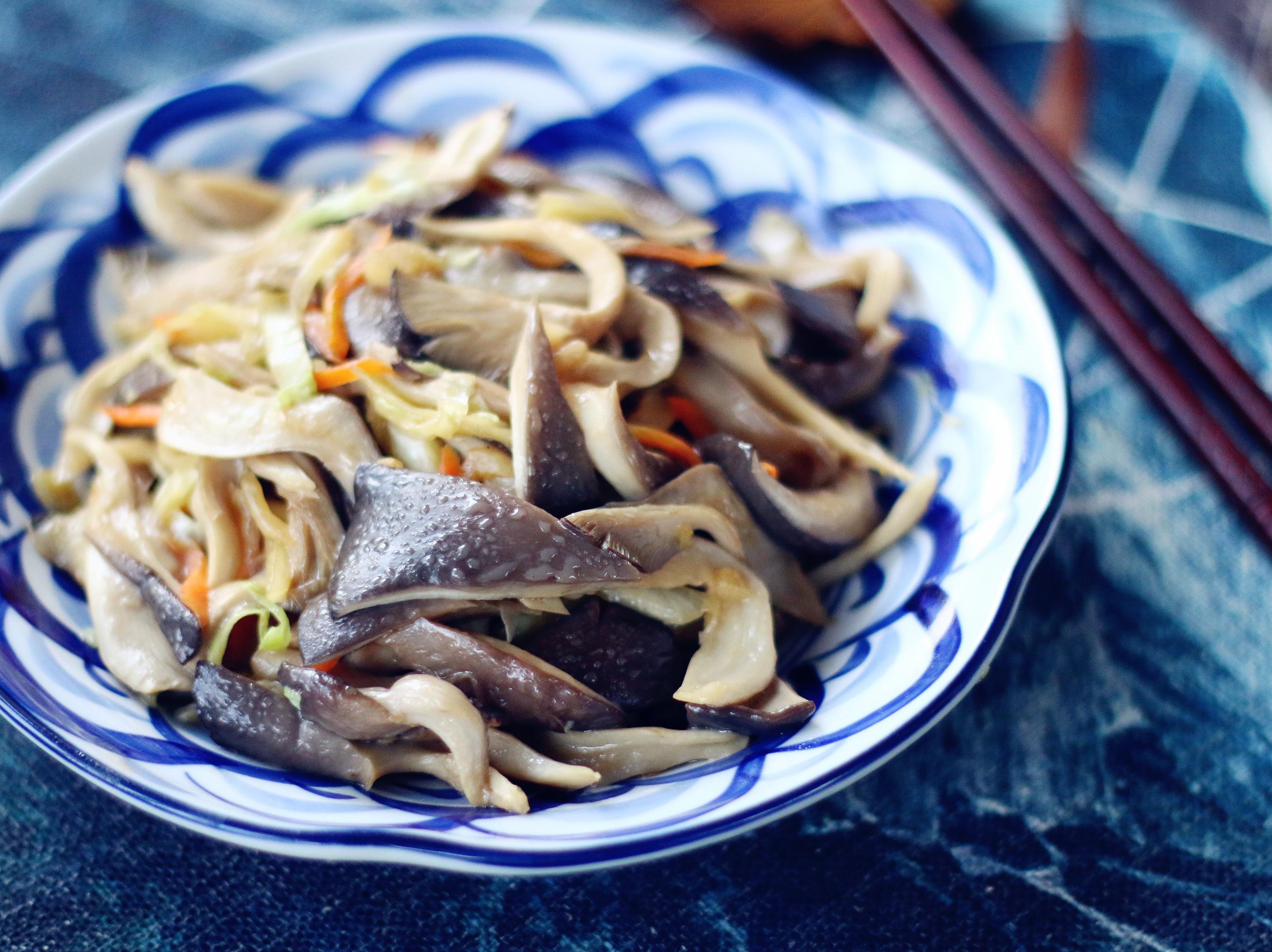 平菇炒白菜的美食_鲍鱼_豆果做法菜谱可以做什么汤图片