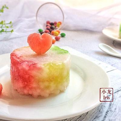彩虹糖西米糕#初夏搜食#