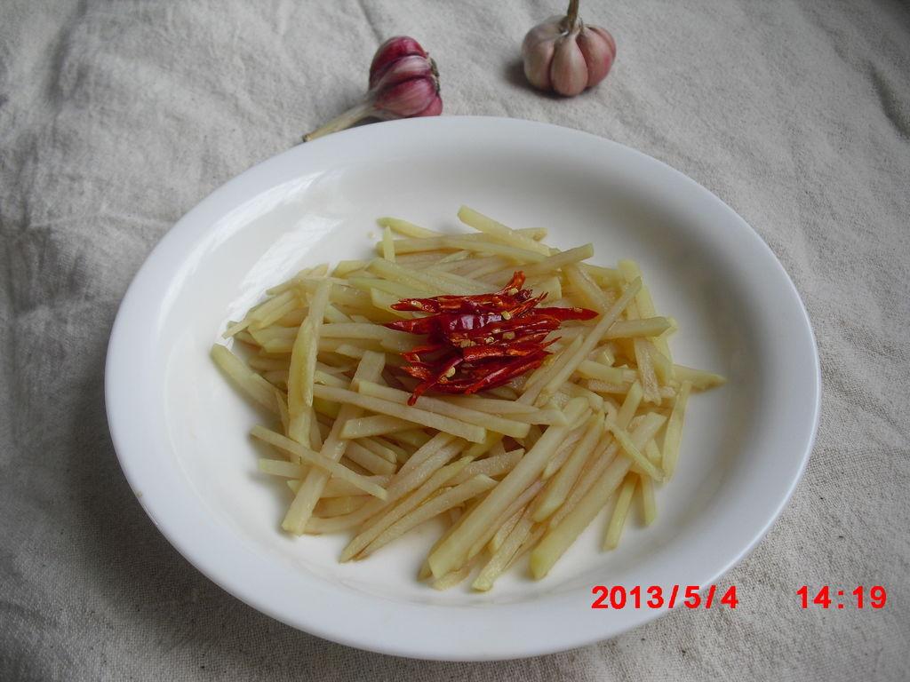 凉拌土豆丝的做法_【图解】凉拌土豆丝怎么做如何做