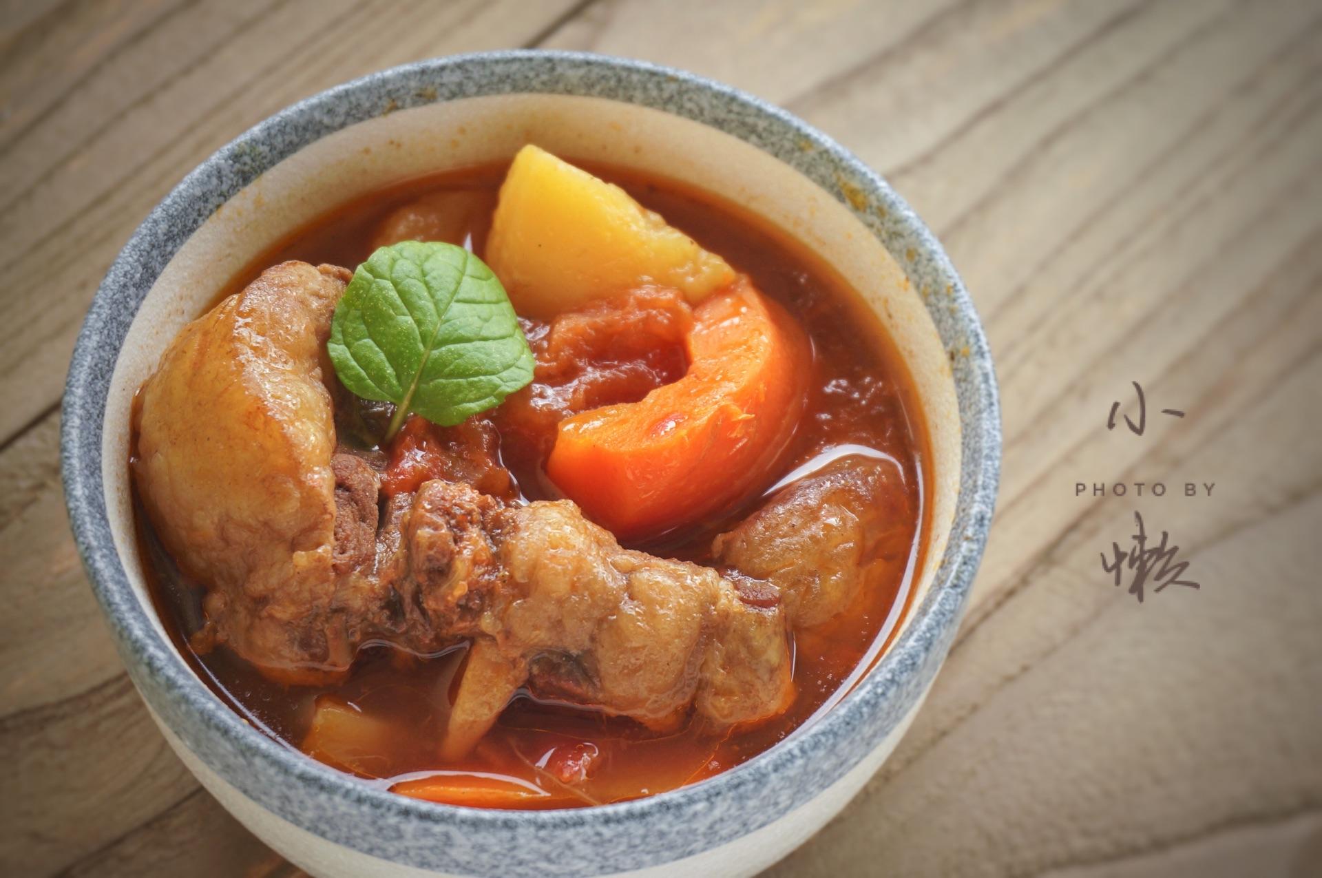 美食菜谱汤的牛尾_做法_豆果火锅牛肚子怎么煮番茄图片