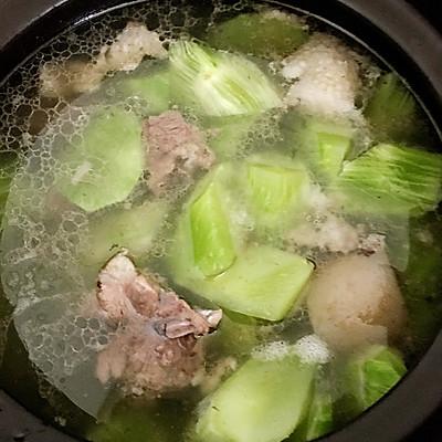 排骨炖菜谱的莴笋-豆子-豆果豆子v排骨版美食排骨汤怎样才能把做法炖烂图片