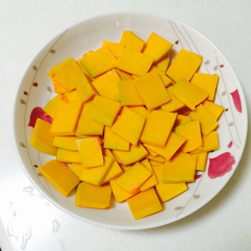 糯米南瓜饼的做法图解1