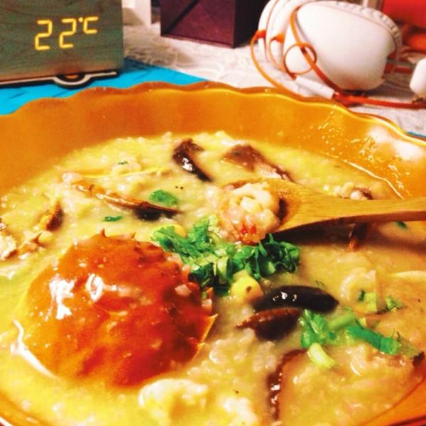 潮州海鲜粥