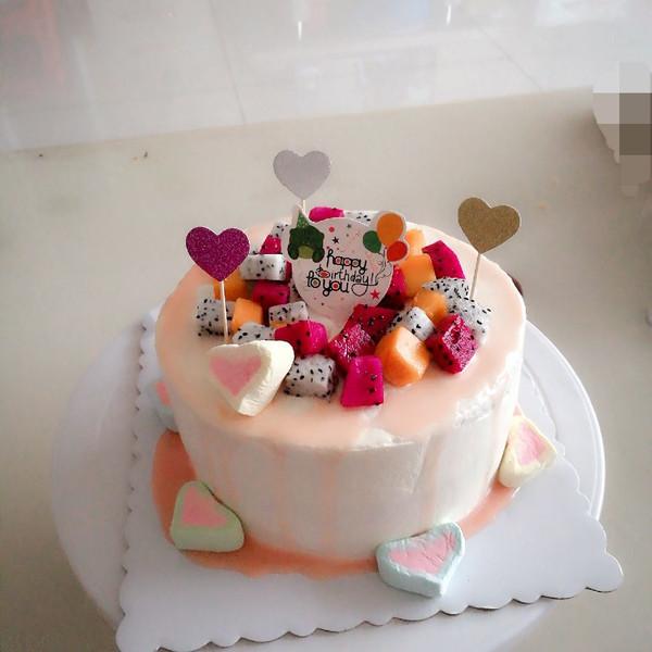淋面蛋糕的做法