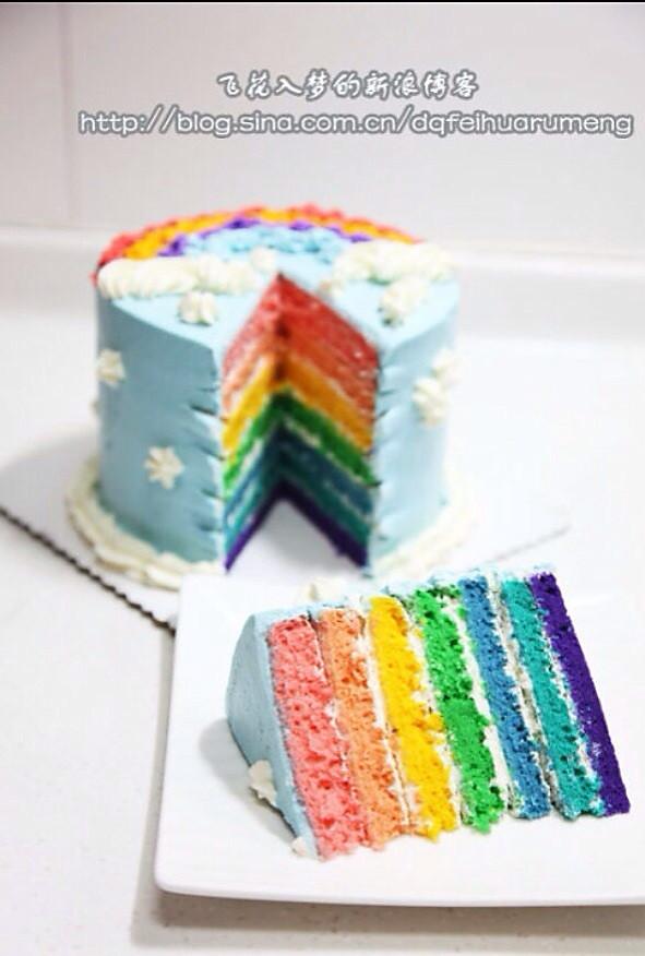 全蛋海绵彩虹蛋糕