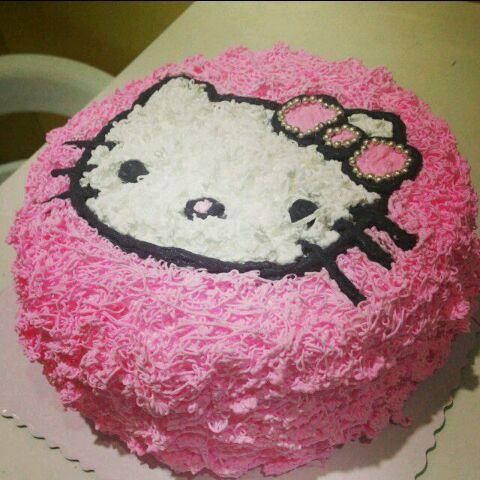 乳脂动物奶油水果生日蛋糕 奶油裱花戚风蛋糕
