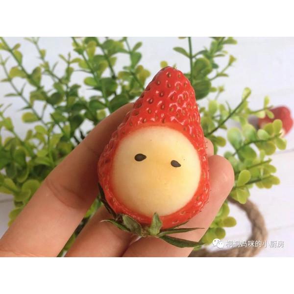 小龙iris的萌萌哒的草莓宝宝做法的学习成果照_豆果