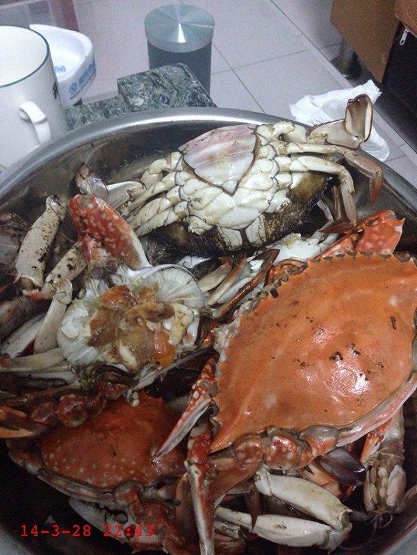 大海蟹怎么吃图解