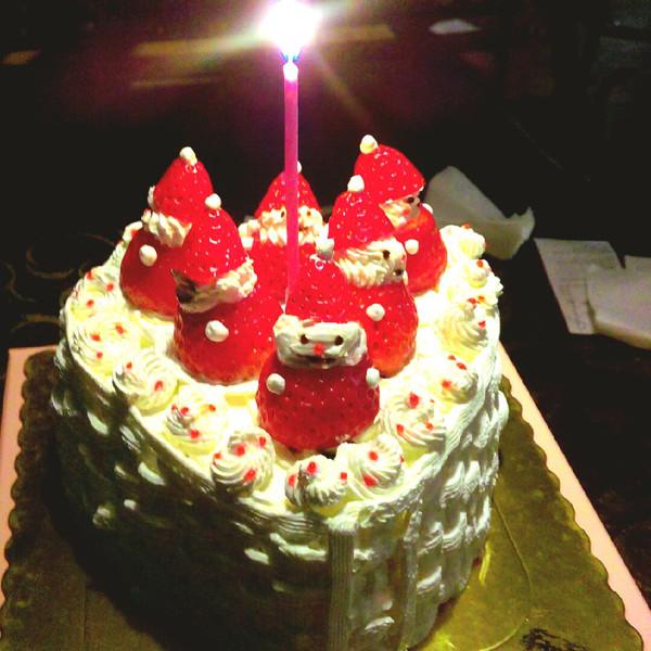 只是个漂亮的男孩纸的草莓雪人蛋糕做法的学习成果照