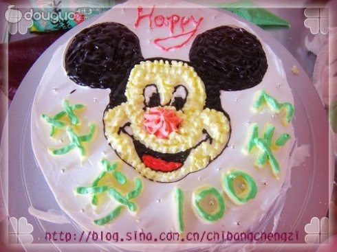 可爱米奇蛋糕的做法图解6