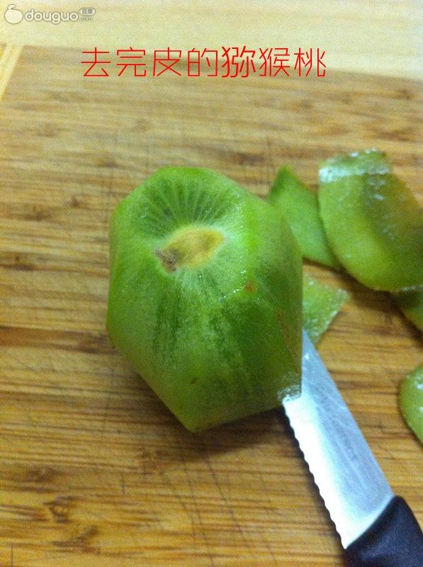 猕猴桃酸奶的做法步骤 5.