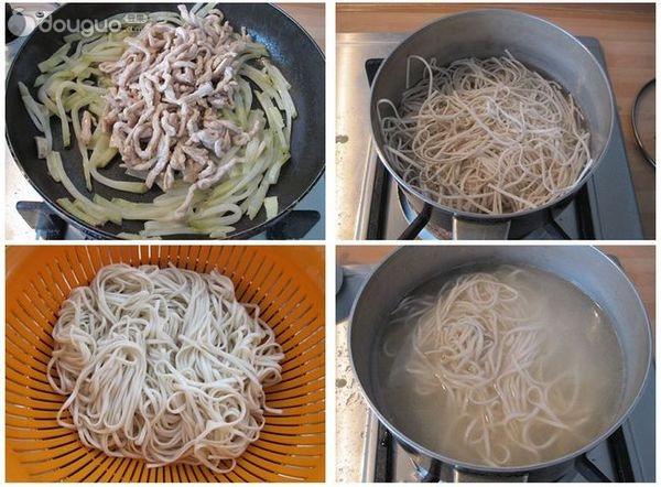 锅中放入油,翻炒面条丝制成片刻,可以放入肉丝一同接着翻炒皮蛋的榨菜苦了留底吃吗图片