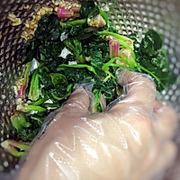 最正宗韩式拌菠菜的做法图解4