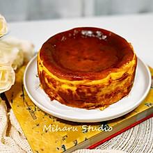 #换着花样吃早餐#❤️超人气网红甜品❤️巴斯克芝士蛋糕