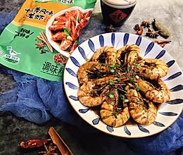 #以美食的名义说爱她#十三香烹大虾的做法