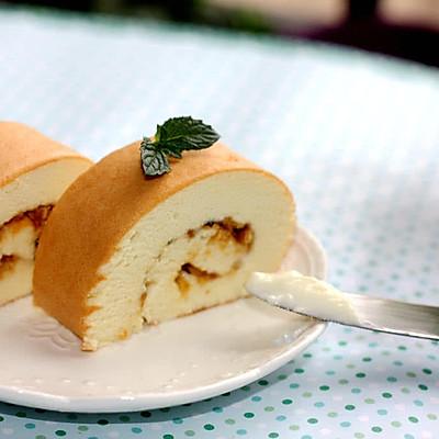 越来越得心应手的蛋糕--肉松蛋糕卷